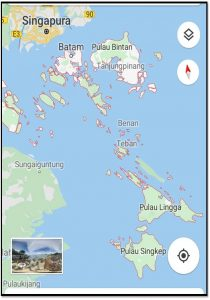 Pelayanan di Kepulauan Riau (Suku Laut)