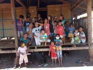 Pelayanan sekolah minggu desa Laimandar 13 september 2020